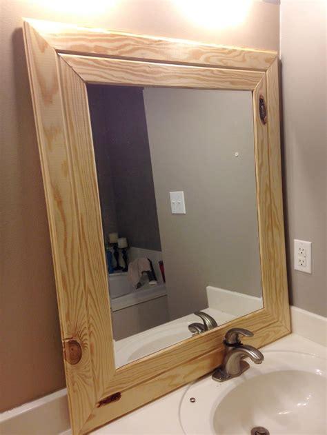 framed mirrors framed mirror tutorial sweet pickins