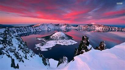 Crater Lake Wallpapers Winter Cave During