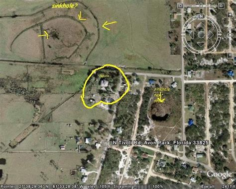 detection warning signs  imminent sinkhole collapse