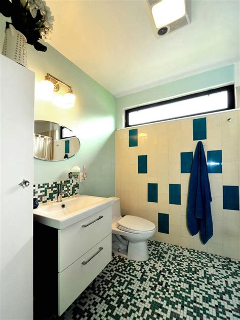 retro modern bathroom home design ideas pictures remodel
