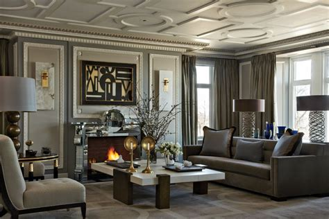 Traditional Livingroom by Traditional Living Room By Jean Louis Deniot By