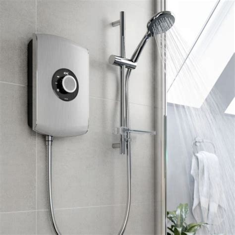 Electric Mixer Shower by Showers Mixer Power Electric Showers Diy At B Q