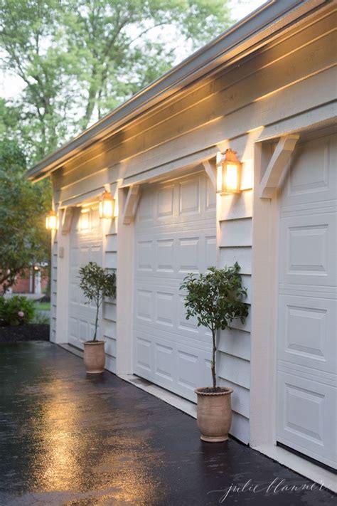outdoor garage lighting ideas easy outdoor decorating and design via julieblanner