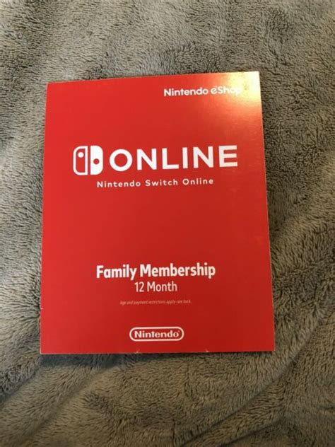 nintendo switch month family membership