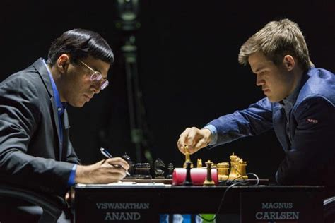 Carlsen Vs Anand 2014 World Chess Championship Game 4