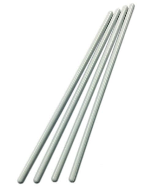 White Dowels 300mm (12'' Inch) 4 Pack  The Vanilla Valley