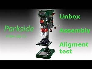 Tischkreissäge Test Aldi : unboxing parkside ptbm 500 b2 drill press doovi ~ Eleganceandgraceweddings.com Haus und Dekorationen
