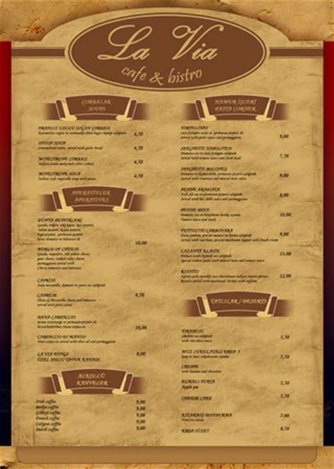 restaurant menu cards design images