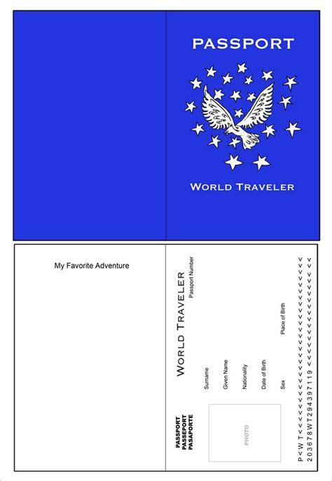 passport template   word  psd illustrator