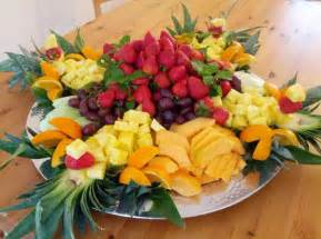 Party Platter Fruit Tray Ideas