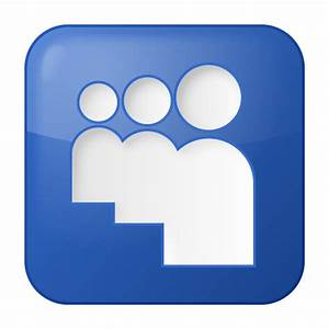 Blue, myspace, social icon | Icon search engine