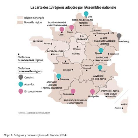 Carte Nouveau Monde Conseil Régional Auvergne by Regional Reconfiguration In The Context Of Land Use