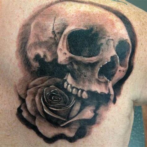 top  detailed skull tattoos