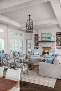 great room unique farmhouse living room design  forte