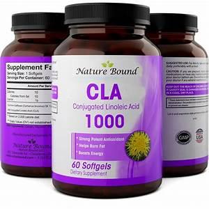 Cla Supplement - Natural Fat Burner - Speeds Up Weight Loss