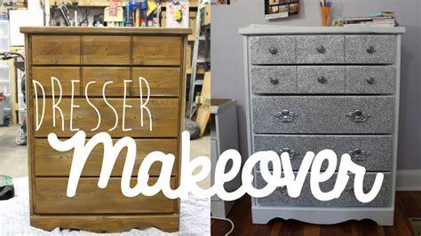 diy dresserfurniture makeover  glitter youtube