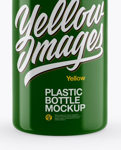 Please note, the 3d model is intentionally simplified and. Glossy Dropper Bottle Mockup in Bottle Mockups on Yellow ...