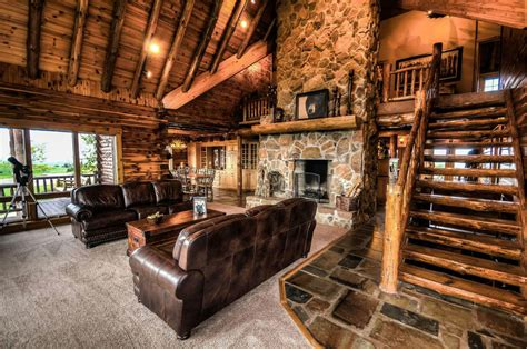 log cabin lodge ohio luxury log cabin rental coshocton crest lodge