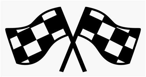 Large png 2400px small png 300px. File - Checkered Flags - Svg - Wikimedia Commons Black ...