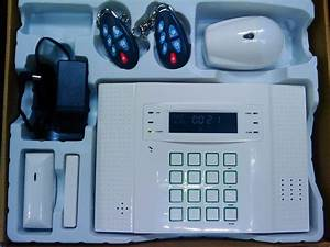 Gsm Home Alarm With Lcd Text  U0026 Diagram Display Sms  U0026 Voice