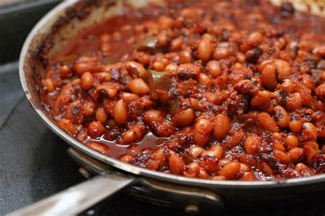 black eyed peas recipe barbecued black eyed peas popsugar food