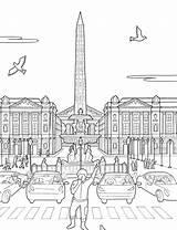 Concorde Place Steden Kleurplaten Coloring Kleurplatenenzo Cities Zo Kleurplaat Fun Afkomstig sketch template