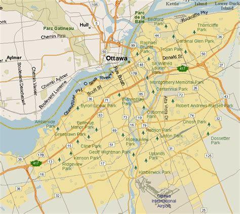 map ottawa canada