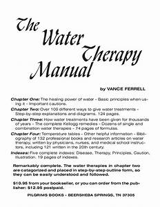 The Water Therapy Manual