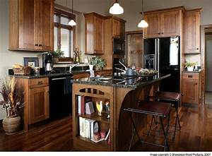quarter-sawn-oak-kitchen-cabinets-Kitchen-Traditional-with
