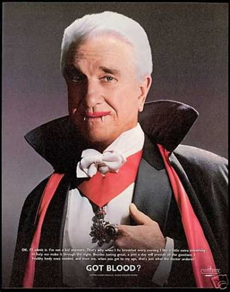 leslie nielsen halloween movie leslie nielsen count dracula blood board 1996 milk