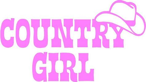 foto de Free: Country Girl Auto/Wall Decal Other Car Items