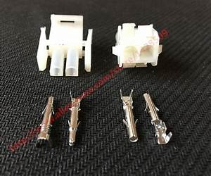 Aliexpress Com   Buy 10 Set Tyco Amp 2 Pin Pa66 1 480699 0 Female Male Electrical Wiring Harness