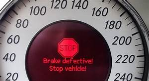 Brake Defective Stop Vehicle  Sbc Brake Failure Error Code