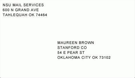 11 address format on a postal address format letter world