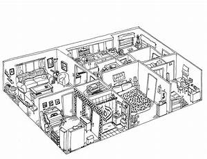 Inside House Design Drawing Unique Image for Inside House ...