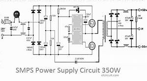 350w Smps Power Supply Circuit  With Images