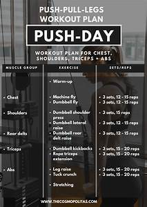 My Workout Routine 2  2018  3-day Split  Push - Pull