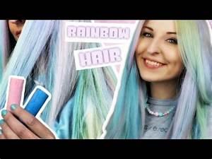 Haare Selber Färben : rainbow hair selber machen diy haare f rben mit haarkreide bonnytrash youtube ~ Udekor.club Haus und Dekorationen