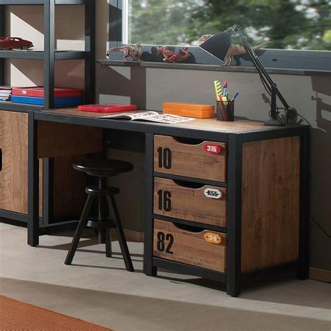 bureau adolescent 3 tiroirs industry zd1 buro ado c 001 jpg