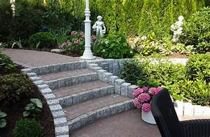 Terrassen Treppen In Den Garten : kleine treppe zur terrasse ~ Orissabook.com Haus und Dekorationen