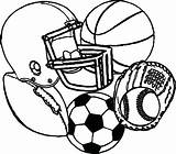 Coloring Pages Soccerball Ball Soccer Sheets Sheet Popular Stress sketch template