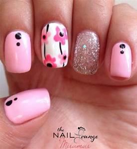 Lovely pink nail art ideas nenuno creative
