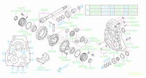 Subaru Impreza Transmission Diagram
