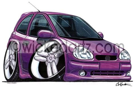 vauxhall purple vauxhall corsa mk1 purple