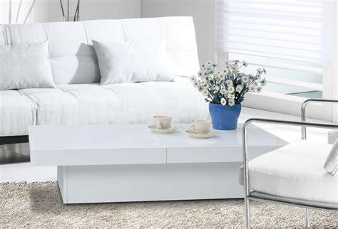 cuisine pratique et fonctionnelle table basse rectangulaire jupiter blanc table basse topkoo