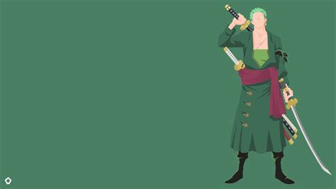 roronoa zoro  pieceminimalist wallpaper