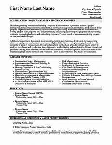 beautiful sample construction resume template construction With construction resume templates for microsoft word