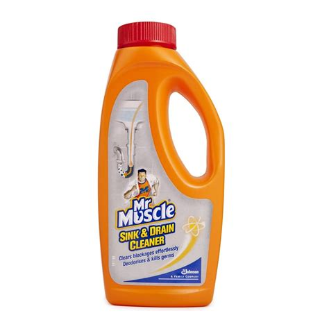 Safe Drain Cleaner For Kitchen Sink by Mr Drain Cleaner 500ml Woolworths Co Za