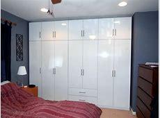 Glossy White Wardrobe Set – 14 Doors of Bedroom Storage
