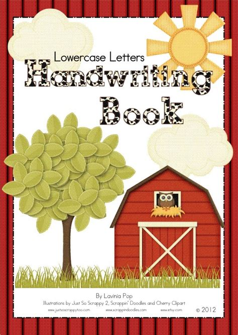 Lower Case Letters Handwriting